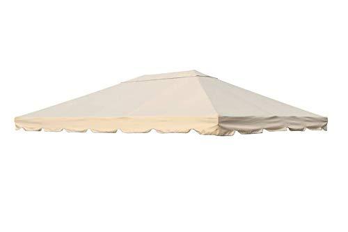 OUTFLEXX Ersatzdach für Sahara Pavillon, beige, Polyester, 300 x 400 cm