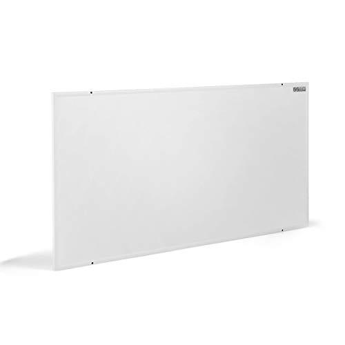COSTWAY Infrarotheizung 520W, Elektrische Wandheizung, Konvektorheizung Überhitzungsschutz, Heizkörper für 9m² / 80-100 ℃ (92 x 62 x 1,5 cm)