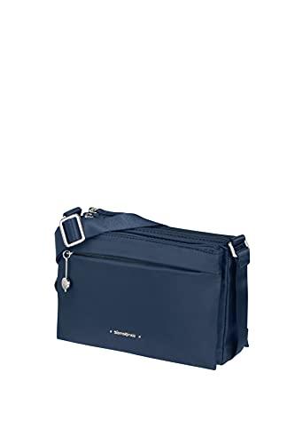 Samsonite Move 3.0-Schultertasche S mit 3 Fächer, Borsa Messenger Donna, Blu Scuro, 23 cm