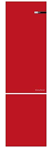Bosch KSZ1BVR00 Pannelli Porte Magnetici ed Intercambiabili per il Vario Style, Rosso