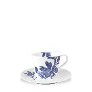 Arbor Blue Handled Cup & Saucer - Caskata