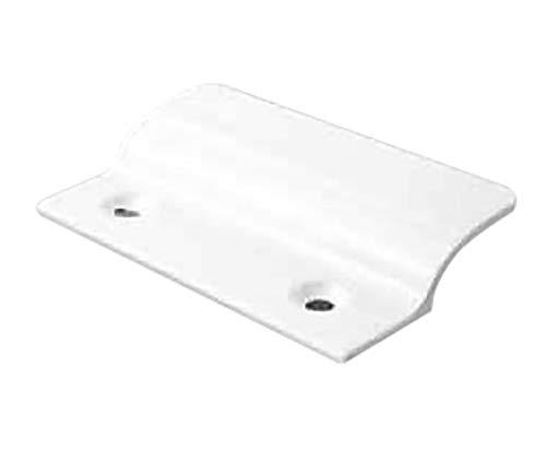 MS Beschläge® Balkontürgriff Terassentürgriff Ziehgriff aus Aluminium (Weiß - RAL 9016)