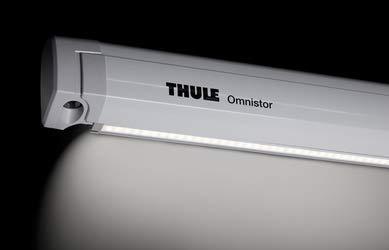 Thule Omnistor 6200 Tent- en LED-rails, antraciet