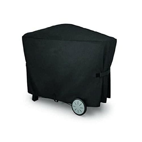 XHDZSW Funda para Barbacoa,Funda para Barbacoa Impermeable, Cubierta BBQ De Parrilla 210D Oxford Protector, para Barbacoa Anti-Viento/UV/Impermeabilidad (112.4 x 64.1 x 95.6 cm)