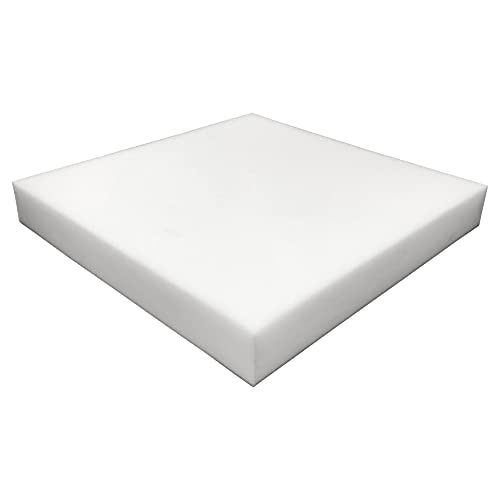 Foamma 6' x 22' x 24' High Density Upholstery Foam Padding, Thick-Custom Pillow, Chair, and Couch Cushion Replacement Foam, Craft Foam Upholstery Supplies, Foam Pad for Cushions and Seat Repair