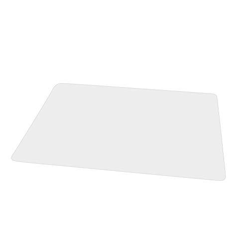 Teeyyui Alfombra para silla, antideslizante, impermeable, fácil de limpiar, material de PVC transparente, para protección de suelo duro (01: 43 x 60 cm)