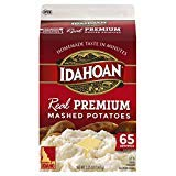 LIMITED EDITION - Idahoan Real Premium Mashed Potatoes, Made with Gluten-Free 100-Percent Real Idaho Potatoes, 3.25lb Carton (65 Servings)