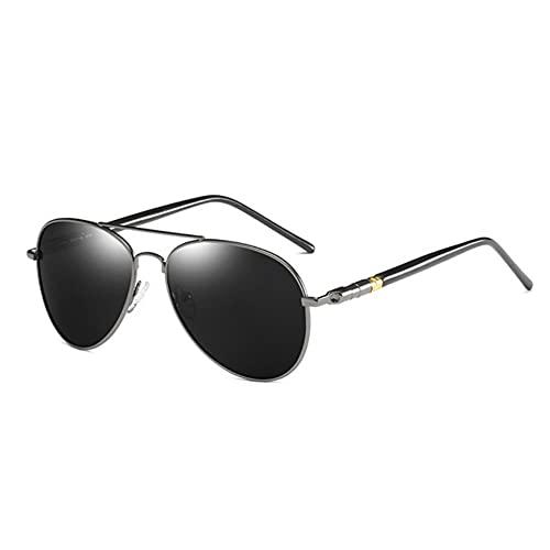 DovSnnx Unisex Polarizadas Gafas De Sol 100% Protección UV400 Sunglasses para Hombre Y Mujer Gafas De Aviador Gafas De Ciclismo Ultraligero Pistola De Espejo De Sapo