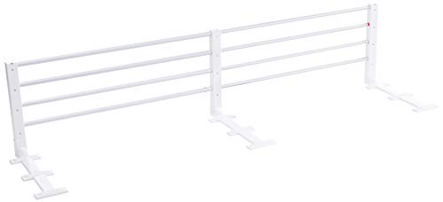 reer 4504 - Bettgitter ausziehbar & höhenverstellbar, Farbe: weiß
