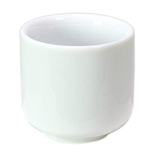 湯呑 白 1.7寸 (直径5.1cm 高さ5.1cm) / 白 湯呑み 仏具 仏前 墓前 お盆