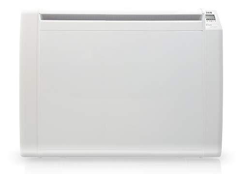 HJM ELVA2000 Emisor térmico cerámico Bajo Consumo | Programable | Pantalla LCD | 2000 W | Blanco, 230 V