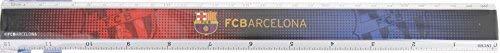 Import.CM 097213 Lineal FC Barcelona, 30 cm, meerkleurig