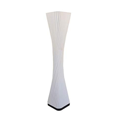 Lámpara de pie Lámpara de pie la lámpara de la tela de la lámpara suave iluminación cálida romántica ambiente simple sala de estar moderno diseño alto arco lámpara de piso arco dormir luz de noche (bl