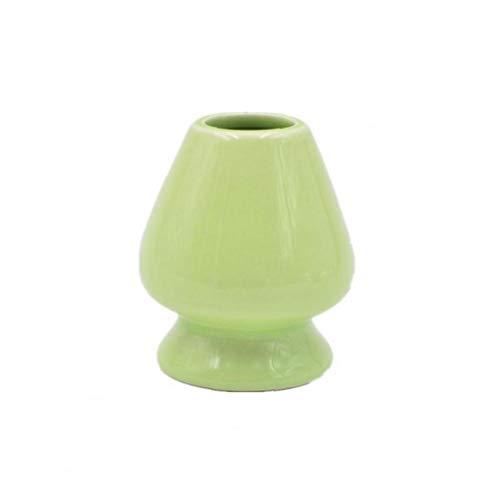 Newin Star Matcha cerámica Titular Bata, cerámica Titular Matcha Bata Soporte té japonés Matcha Polvo Copas Juego de té Matcha