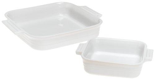 Le Creuset Square Dish Bonus Bonus, White