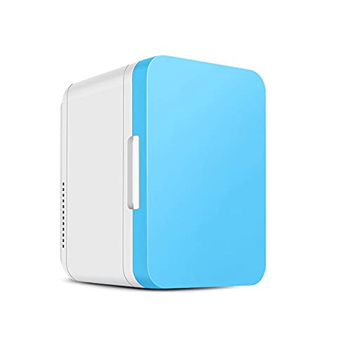 HMBB Mini refrigerador (3 Colores para la elección) 8 litros de Enfriador termoeléctrico portátil AC/DC y más cálido para el Cuidado de la Piel, Alimentos, medicamentos, hogar y Viaje
