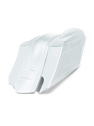 Buy Bargain Harley Davidson 6 down and 9 out angle saddlebags and overlay fender kit right side cu...