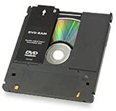 1-Pack DVD-RAM Media 9.4GB Doublesided Type1 Non-Removable