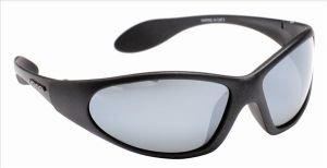 Marine Polarized Sunglasses-Lens Colour Black Frame Gold Lens