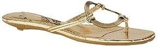 Naughty Monkey Women's Loop De Loop Sandal,Gold,9.5 M