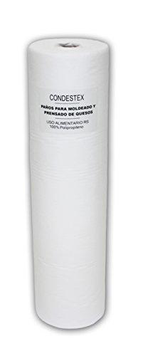 2/plis Blanc brillant par Encombrants doux BS 76502 Medical Rouleaux 60/cm X 46/m Lot de 9