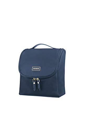 Samsonite Karissa Cosmetic Cases - Borsa da Toilette, 23 cm, Blu (Dark Navy)