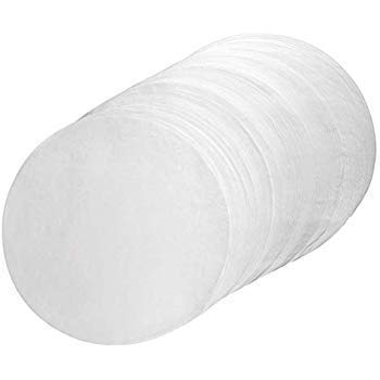 Professional Silicone Parchment Paper Baking Circle by Perfect Cheesecake Bakeware- Pre Cut Non-Stick - Fits 9 inch Springform - For Baking, Cooking, Dutch Oven, Cheesecake, Tortilla Press (100)