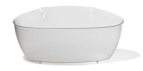 koziol Utensilo  Splash,  Kunststoff, transparent klar, 9,5 x 27,5 x 13 cm