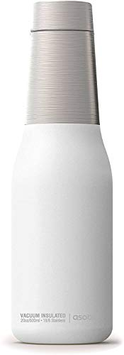 Asobu Oasis 24 Hour Copper Insulated Water Bottle (600ml) - White
