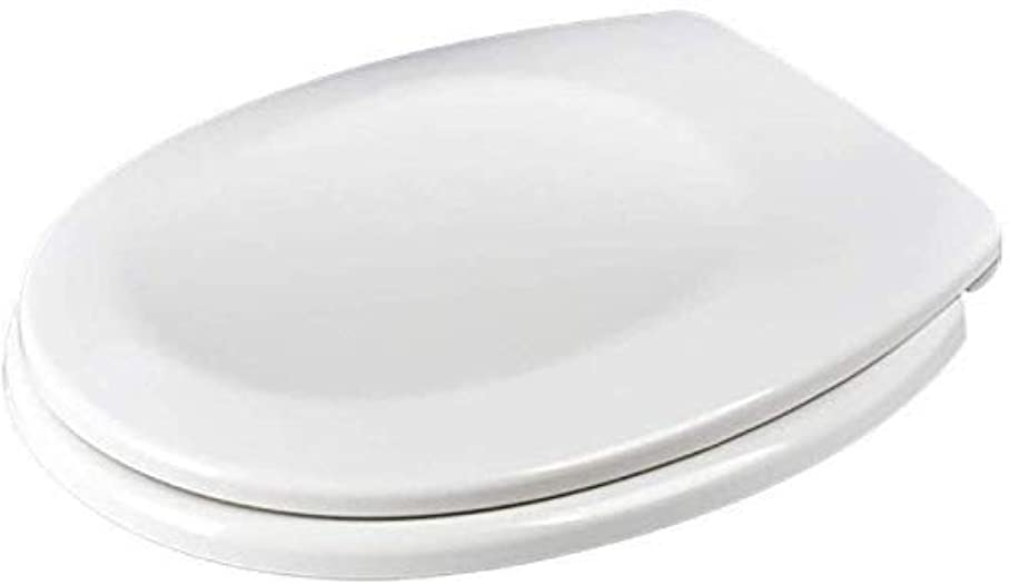 役に立たない処方する個性ZYL-YL 二つのフィッティングキット(:O型サイズ)と尿素 - ホルムアルデヒド樹脂厚みの超耐性便座付き便座O型トイレのふた