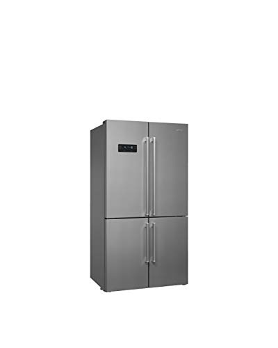 Smeg FQ60X2PE1 nevera puerta lado a lado Freestanding Acero inoxidable 541 L A++ - Frigorífico side-by-side (Freestanding, Acero inoxidable, Puerta francesa, LED, Tocar, LCD)