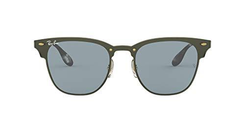 Ray-Ban 0RB3576N Gafas de sol, Brushed Gold, 40 Unisex