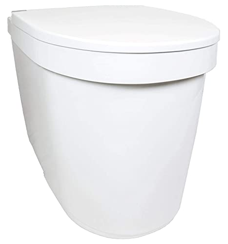 Separett Tiny Waterless Urine Diverting Toilet with Urine Container - NEW FOR 2021!