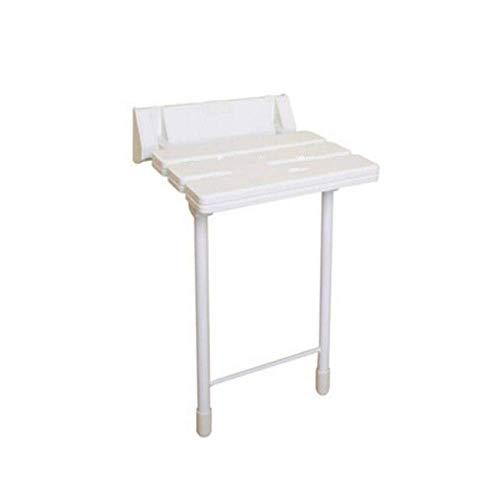 Badkamer douchewand stoel badkamer kruk thuis aan de muur gemonteerde douchezitje badkamer klapstoel