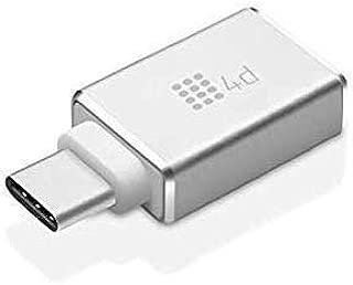 4d USB Type C Adapter, USB C to USB A 3.0 OTG Adapter/C Type USB Converter for MacBook Pro, Galaxy S8 S8+, Google Pixel, Nexus 6P 5X, Lenovo ZUK Z1 and More