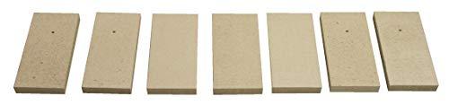 Feuerraumauskleidung für Koppe Flair Kaminöfen - Vermiculite - 7-teilig