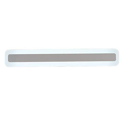 ZHANGXJ LED Espejo luz Lámpara de Baño Adecuado para baño Lavabo Armario lámpara de Espejo de Armario hogar Hotel Pared Iluminación (Size : Positive White Light 48w/1200mm)