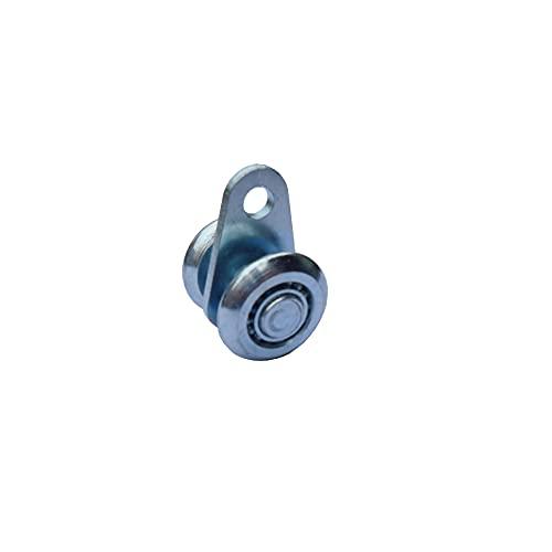 FEPDW Hardware Parts Diameter 25MM Bearing 15kg Industrial Door Sliding Door Sliding Door Hanging Wheel Pulley,Handle (Size : 1)