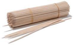 200 Stk Bambusspieße 25cm Ø3mm Schaschlickspieße Kartoffel Twister Spieße Bambus