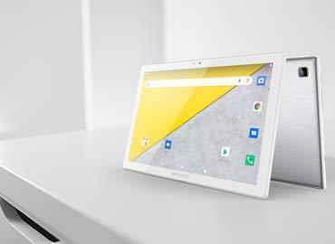 Archos T101 4G 32GB - Tablet táctil 4G (Pantalla de 10 Pulgadas, IPS HD 1280 x 800, procesador de Cuatro núcleos, 2 GB de RAM y 32 GB de Almacenamiento, Color Gris