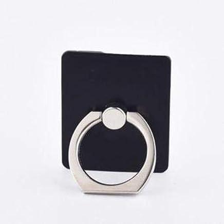 Jadebin Ring Stand Holder/Mobile Phone Ring Stent / 360 Degree Rotating Metal Ring Holder for Any Device-Black