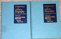 American Poets, 1880-1945: 3rd Series (Dictionary of Literary Biography)