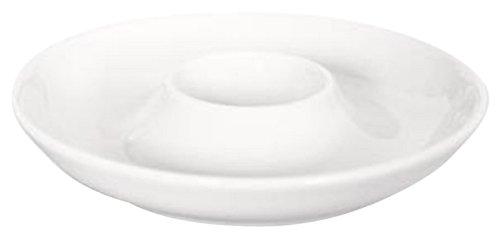 Kahla - Pronto - weiß - Eierbecher mit Ablage - Porzellan