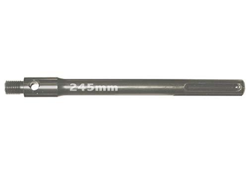 Preisvergleich Produktbild SDS-Max Adapter / Verlängerung M16 in 245mm für Diamant Hohlbohrkrone Laser geschweißt,  Dosensenker,  Bohrkrone,  Dosenbohrer,  Lochbohrer,  Kernbohrer,  Kernbohrkrone,  Steckdosenbohrer