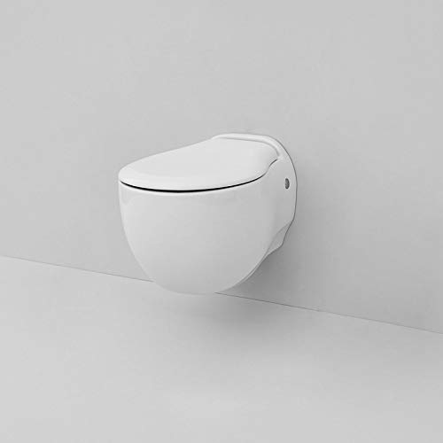 WC Suspendu Blend The Artceram Art. blv001 Cache-Pot amortie Non Inclus