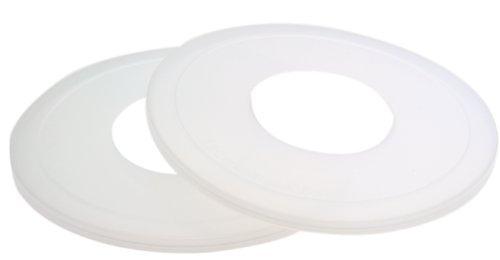 KitchenAid KBC90N Mixer Bowl Covers for Pivot Head Stand Mixer Bowls, Set of 2, Size: Medium