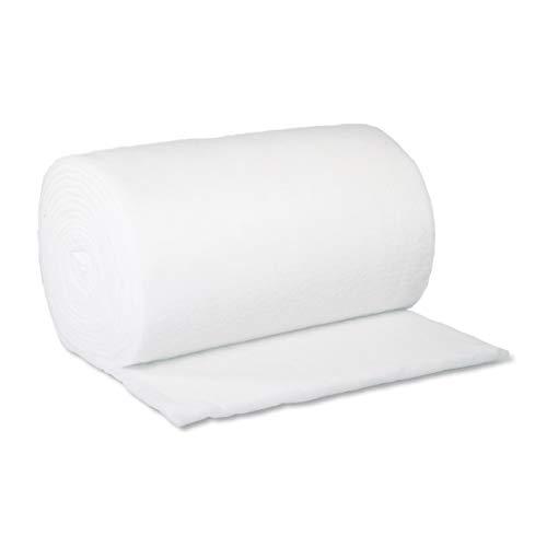 Merino-Betten weicher und formstabiler Volumenvlies, Kissenfüllung, Polsterwatte, Kopfkissenfüllung in verschiedenen Größen (300 g/m2 160cm Breit)