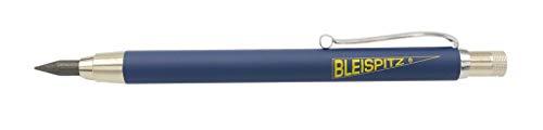 Bleispitz PROFI - Marker | Graphitmine | schreibt auf Holz, Papier, Karton |Allesschreiber-Ersatz-Minen | mit Clip
