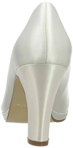 Rainbow Club Brautschuhe Grace – Pumps, High Heels, Ivory/Creme - 3