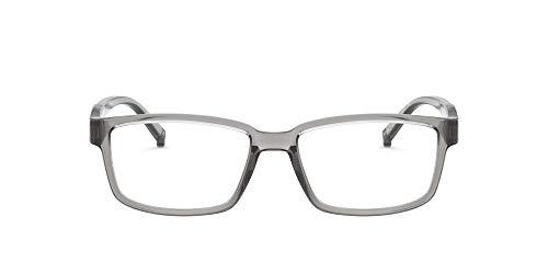 Arnette Gafas para hombre BIXIGA AN 7175, color gris transparente, 51/17/145